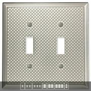 Pyramid Brushed Nickel Switch Plates Wall Plates And Outlet Covers