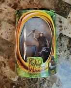 Gimli With Battle Axe 2001 Lord Of The Rings Lotr Toybiz Moc
