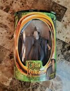 Gandalf With Light-up Staff 2001 Lord Of The Rings Lotr Toybiz Moc