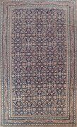 Antique Vegetable Dye Tebriz Hand-knotted Area Rug Wool Oriental 8and039x12and039 Carpet