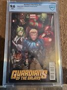 Guardians Of The Galaxy 2013 Graded 9.6 Ed Mcguinness 2013 Variant Cover 0.1