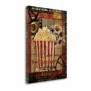 Movie Popcorn By Eric Yang Gallery Wrap Canvas 18 X 23