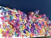 Used My Little Pony Lot 180 Toy Figures Equestria Dolls Hasbro Assorted