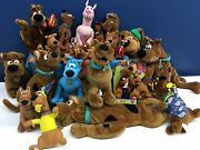 Cute Lot 22 Hanna Barbera Scooby Doo Dog Plush Toys Surfer Red Blue 5 To 30