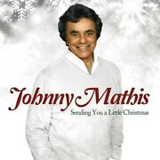 Sending You A Little Christmas Johnny Mathis Audio Cd Used - Very Good