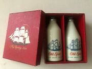 Vintage New Old Stock Old Spice Powder And Cologne In Box