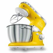 Sencor Stm3626yl 6 Speed Stand Mixer With Pouring Shield And 4 Specialized Me...