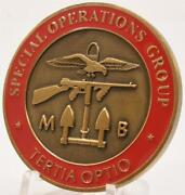 Cia Special Operations Group Sog Personnel Recovery Challenge Coin Tertia Optio