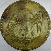 1850's Baltimore, Md Trade Token - C/s Ch 5 - Eagle And Wreath