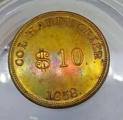1858 Col. Hardy Crier Md-68b R-8 Horse Gambling - Baltimore, Md