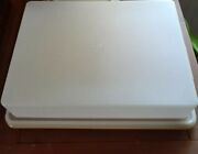 Euc Vintage Tupperware Cake And Pie Taker Lot Of 3 Sheet Cake 2 Layer And Pie