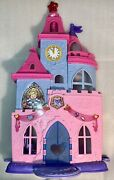 Fisher-price Little People Disney Princess Magical Wand Palace Doll W/ Figures