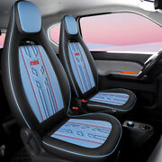 Leather Car Seat Covers For Women Girls Airbag Breathable Waterproof For Sgmw
