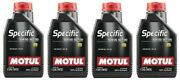 Motul 4l Engine Oil Specific 0w30 100 Synthetic Recommended For Car Skoda