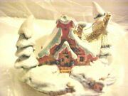 Wdcc - Disney Enchanted Places Peter And The Wolf - Nestled In The Snow Ornament