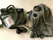 Us M6a2 Chemical Gas Mask W/carry Bag