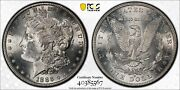 1886-s Pcgs And Cac Ms63 Morgan Silver Dollar