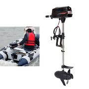 60v 2.2kw Electric Outboard Motor High Power Brushless Fishing Boat Engine Us