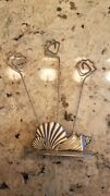 Sea Theme Picture Holder Stainless Steel Very Cute Pre Owned Never Used