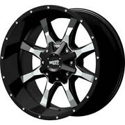 4- 16x8 Black Moto Metal Mo970 6x135 And 6x5.5 +0 Rims Discoverer Ht3 Tires
