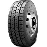 4 New Kumho Kma12 385/65r22.5 Load L 20 Ply All Position Commercial Tires