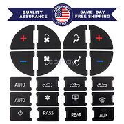 Ac Button Repair Kit Decal Stickers Dash Replacement For Chevrolet Silverado Us