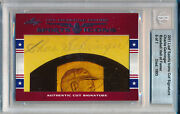 Charlie Gehringer 2011 Leaf Sports Icons Cut Signature Hof Hall Of Fame Auto /7