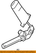 Chrysler Oem Front Seat Belt-buckle End Right Wp141d5ad