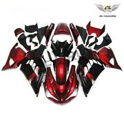 Fu Injection Red Black Fairing Fit For Kawasaki Zx14r Zzr1400 2012-2015 A007