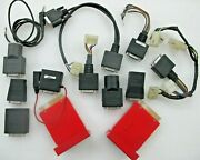 Snap On Scanner Mt2500 Solus Ethos Modis Verus Obd1 Adapters And 2 T/s Cartridges