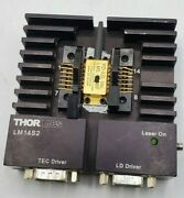 Thorlabs Lm14s2 Universal 14-pin Butterfly Laser Diode Mount W Laser