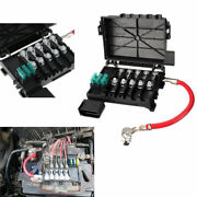 Black Car Fuse Box On Top Of Battery 4 Wire 1j0937550ab Replacement For Vw Golf