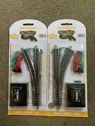 Bachmann N Scale E-z Track Remote Left Right Hand Switch Train Turnout 44861-62