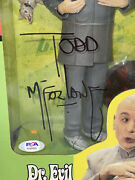 """Austin Powers Dr. Evil Special Ed. 9"""" Figure Signed By Todd Mcfarlane Psa/dna"""