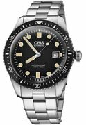 New Authentic Oris Divers Sixty-five 42mm Menand039s Watch 73377204054mb On Sale