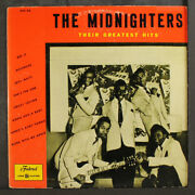 Midnighters Greatest Hits Federal 10 Lp 33 Rpm