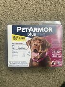 Petarmor Plus For Large Dogs 45-88 Lbs 6- Applications