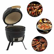 Aoxun 13 Kamado Grill Roaster And Smoker Bbq Grill Ceramic Kitchen Egg Style