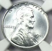 1943 Lincoln Wheat Cent Steel Penny 1c - Certified Ngc Ms68 - 3200 Value