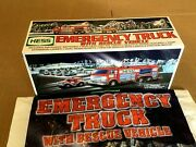2005 Hess Toy Fire Truck With Mini Rescue Vehicle - New In Box - Never Opened