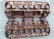 1971 Pontiac 455ho Cylinder Heads 197 Castings Dated A 08 1 No Porting Real Deal
