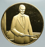 United States George H.w. Bush Official Presidential Portrait Old Medal I91357