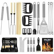 29pcs Bbq Grill Accessories Set Griddle Tools Stainless Steel Grilling Outdoor