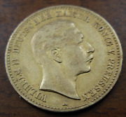 Germany Prussia 1890 A Gold 10 Mark Xf