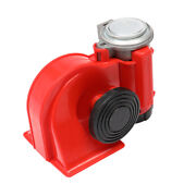 Red 110db Super Train Horn Speaker Auto Parts For Trucks Cars New