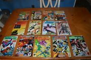 Bakers Dozen Comic Books Lot Bloodlines, Justice Society, Legion Of Super Heroes
