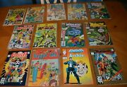 Lot 13 Comic Books Bakers Dozen Starring The Punisher And Archie + Alpha Flight