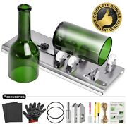 Glass Bottle Cutter Diy Tool Kit Wine Beer Whiskey Cutting Machine Recycle Tools