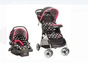 Disney Baby Lift And Stroll™ Plus Travel System, Minnie Coral Flowers