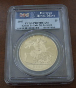 Great Britain 2007 Gold 5 Pounds Sovereigns Pcgs Pf69 Dcam